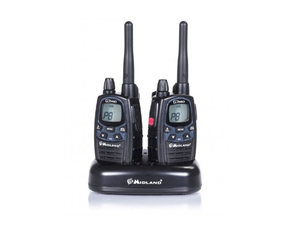 Midland g7 pro export 3w - Talkie walkie professionnel longue portee ...